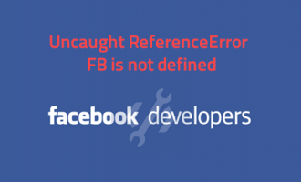 Uncaught ReferenceError: FB is not defined