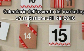 24 statistiche utili del 2016 per il marketing online